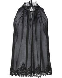 Elisabetta Franchi Top - Black