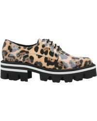 Luciano Padovan Lace-up Shoe - Natural