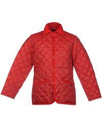 Lavenham Mittellange Jacke - Rot