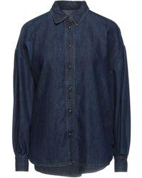 Ottod'Ame Denim Shirt - Blue
