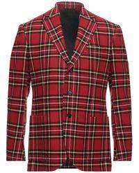 Ermanno Scervino Suit Jacket - Red