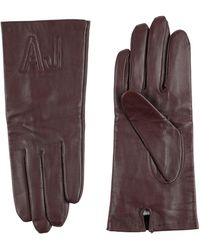 Armani Jeans Gloves - Brown