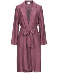 ..,merci Overcoat - Purple