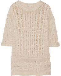 Cotton by Autumn Cashmere Sweater - White