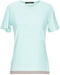 Les Copains T-shirt - Blue