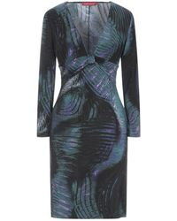 Angelo Marani Short Dress - Blue