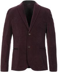 Daniele Alessandrini Homme Suit Jacket - Purple