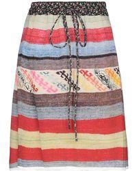 Vivienne Westwood Anglomania Knee Length Skirt - Black