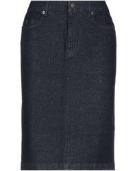 Belstaff Denim Skirt - Blue