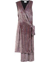 Au Jour Le Jour - 3/4 Length Dress - Lyst