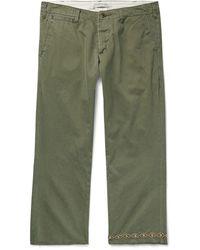 Remi Relief Pantalones piratas - Verde