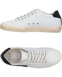 Leather Crown Low-tops & Sneakers - White