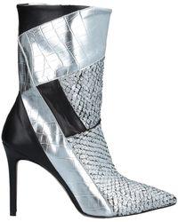 Divine Follie Ankle Boots - Metallic