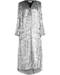 Balenciaga Vestito lungo - Metallizzato
