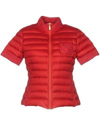 Geospirit Down Jacket - Red