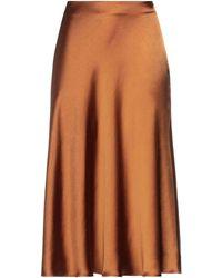 Imperial 3/4 Length Skirt - Brown