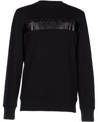 Diesel Black Gold Sweatshirts - Black