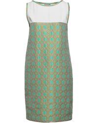 Mantu Short Dress - Green