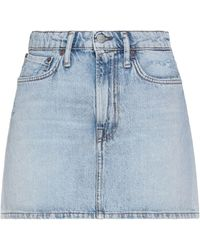 Acne Studios Denim Skirt - Blue