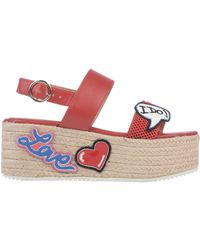 Love Moschino Sandals - Red