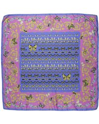 Versace - Square Scarves - Lyst