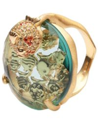 First People First Anillo - Multicolor