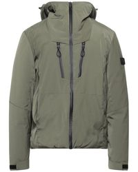 Solid Down Jacket - Green