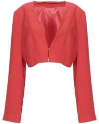 Annarita N. Suit Jacket - Red