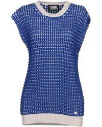 Karl Lagerfeld Sweater - Blue