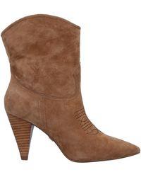 Lola Cruz Ankle Boots - Brown