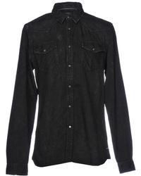 Scotch & Soda Denim Shirt - Black