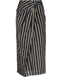 Malloni - Long Skirt - Lyst
