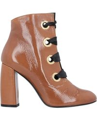Noa Ankle Boots - Brown