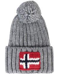 Napapijri Semiury Bobble Hat Gray