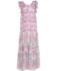 Nolita Long Dress - Purple