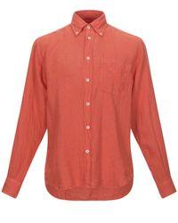 HARDY CROBB'S Shirt - Orange