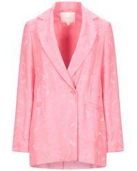 Maje Suit Jacket - Pink