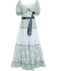 Gül Hürgel Langes Kleid - Grün
