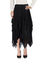 Loewe 3/4 Length Skirt - Black