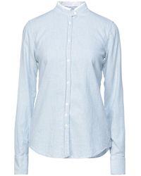 Aglini Camicia - Blu