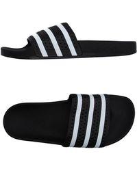 adidas Originals Originals Adilette Slide Shoes - Black