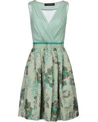 Christian Pellizzari Knee-length Dress - Green