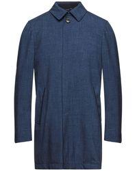 Tombolini Overcoat - Blue
