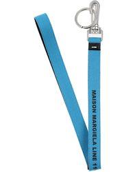 Maison Margiela Schlüsselanhänger - Blau