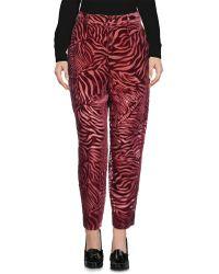 INTROPIA Pantalon - Rouge
