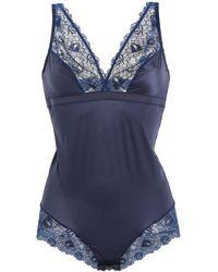 Maison Lejaby Bodysuit - Blue