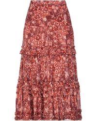 Ulla Johnson Long Skirt - Red
