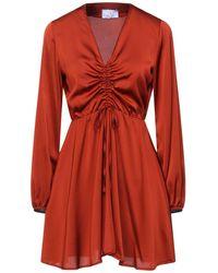 Berna Short Dress - Brown