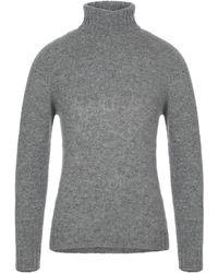 Obvious Basic Turtleneck - Grey