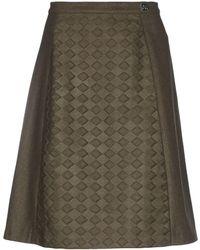 Peuterey Knee Length Skirt - Green